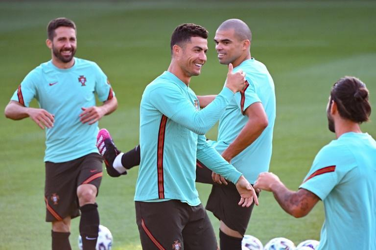 Cristiano Ronaldo and Portugal are at risk of early elimination when they play France in Budapest