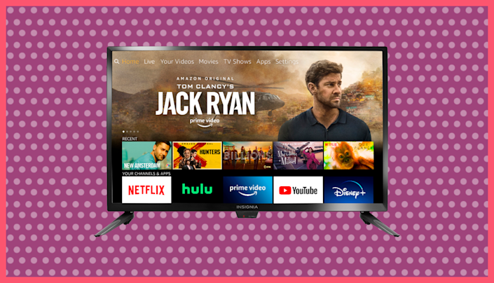Broadcast channels show up in the same menu as streamers--it's a smorgasbord of viewing delights. Photo: Amazon)