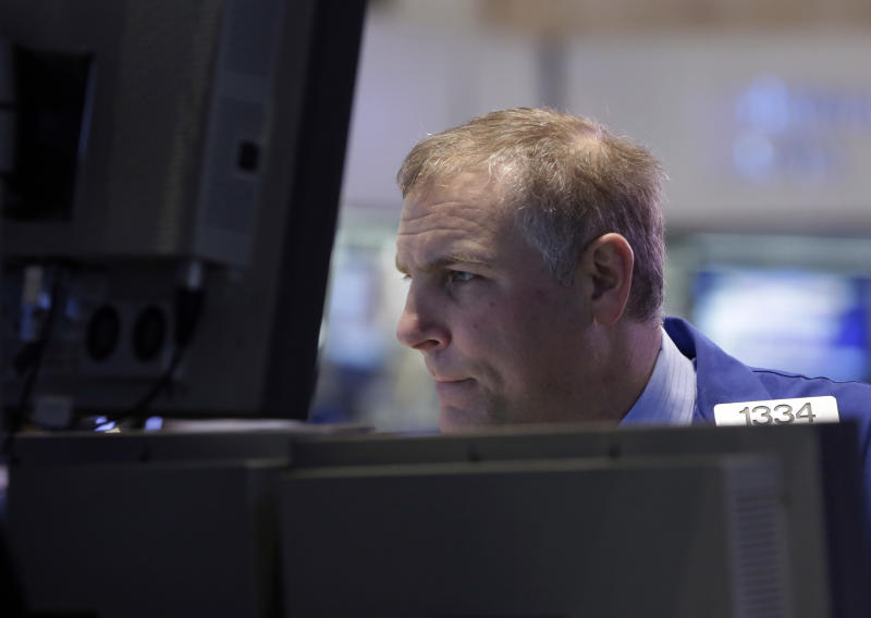 Weak economic reports send stock market lower