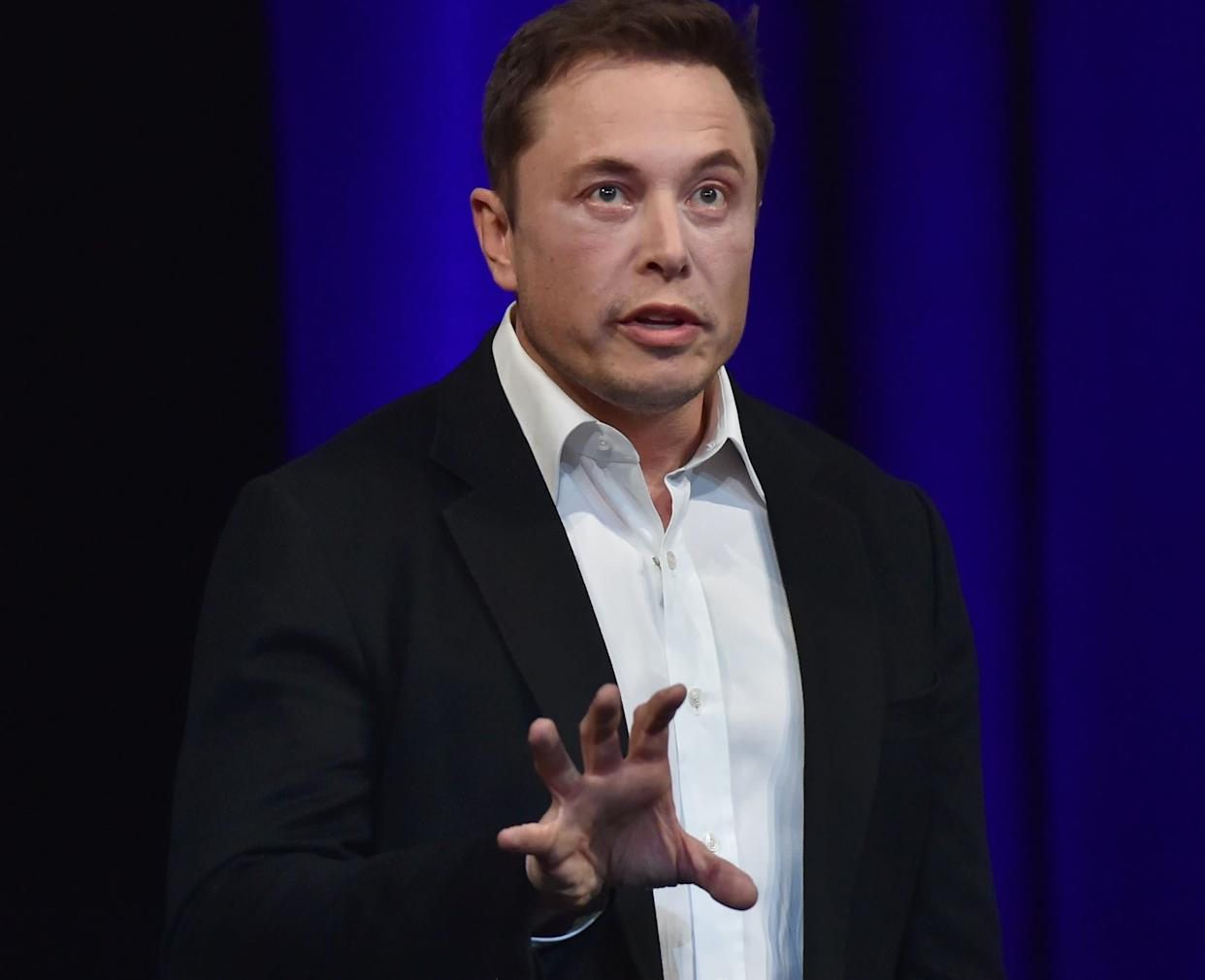 Billionaire entrepreneur Elon Musk said on Friday that his company, SpaceX, has begun work on an Interplanetary Transport System. (Photo: PETER PARKS via Getty Images)