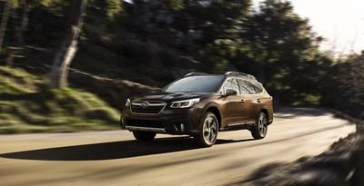 Subaru Announces Pricing on 2021 Legacy and Outback Models (2021 Outback Touring shown)