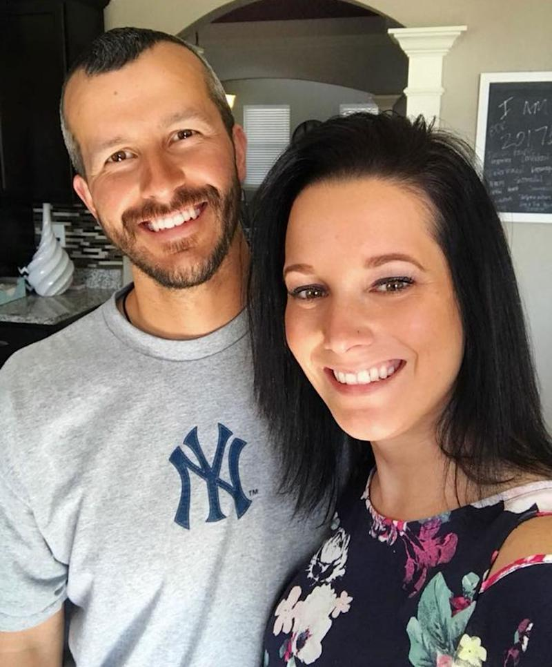 From left: Chris and Shanann Watts