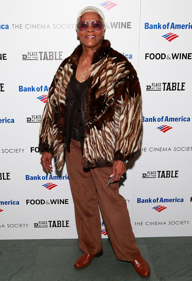 Dionne Warwick. Need we say more? (2/27/2013)