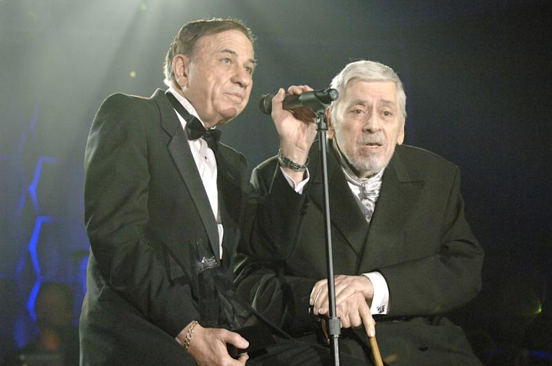Richard M. Sherman and Robert B. Sherman, aka the Sherman Brothers (Photo by L. Busacca/WireImage for Songwriter's Hall of Fame)
