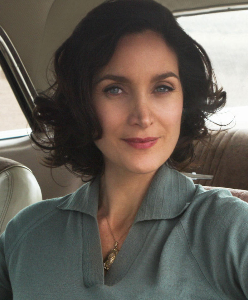 "Carrie-Ann Moss stars as Katherine O'Connell in ""Vegas"" on CBS."