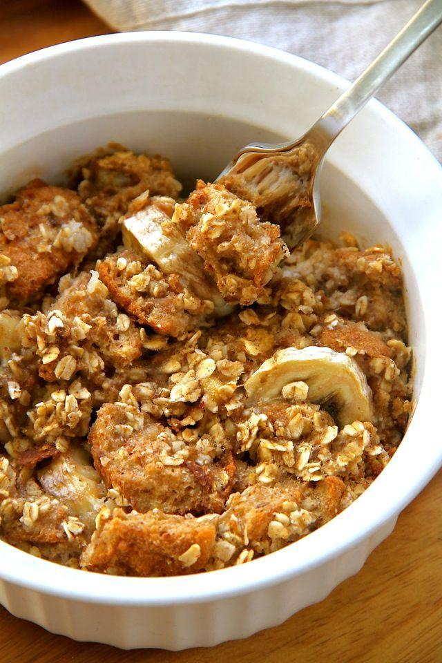 "<p><span>French toast was everything oatmeal was missing.</span></p><p><span>Get the recipe from</span> <a href=""http://www.runningwithspoons.com/2015/04/10/banana-oat-baked-french-toast/"" rel=""nofollow noopener"" target=""_blank"" data-ylk=""slk:Running With Spoons"" class=""link rapid-noclick-resp"">Running With Spoons</a>.<br></p>"