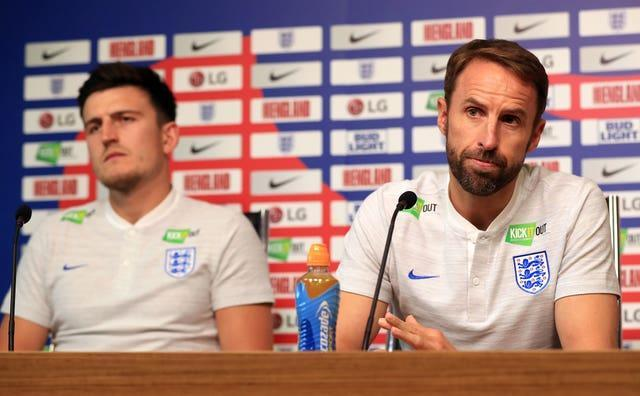 Harry Maguire is grateful for Gareth Southgate's support