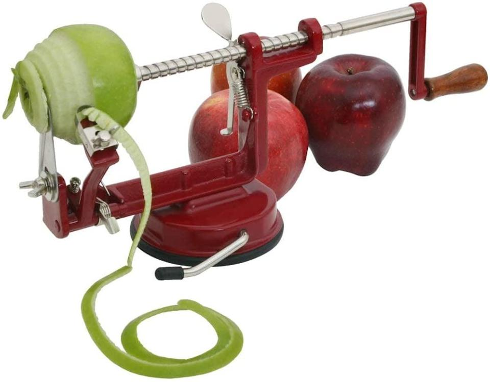 <p>We never knew we needed this <span>VKP Brands Johnny Apple Peeler</span> ($27) until now.</p>
