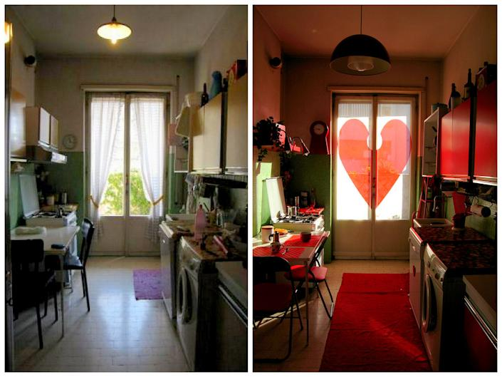 Simple changes like window coverings can have a dramatic effect, as Flickr user