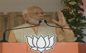 Power of Ram help maintained peace in the country after Ayodhya verdict, says Modi