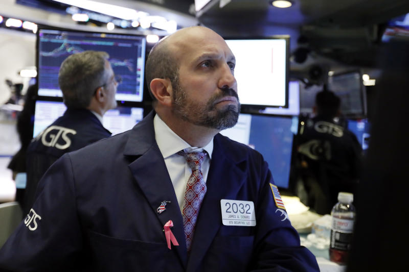 Wall Street gains wiped out by fears of trade war