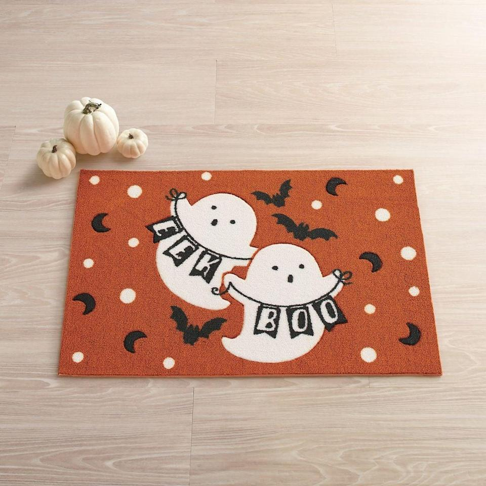 <p>Brighten your dorm ambiance with the friendly spirits on this adorable <span>Ghost Pals Halloween Accent Rug</span> ($17, originally $25) from Kohl's.</p>