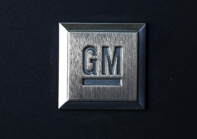 Shares of General Motors rose following better-than-expected quarterly profits