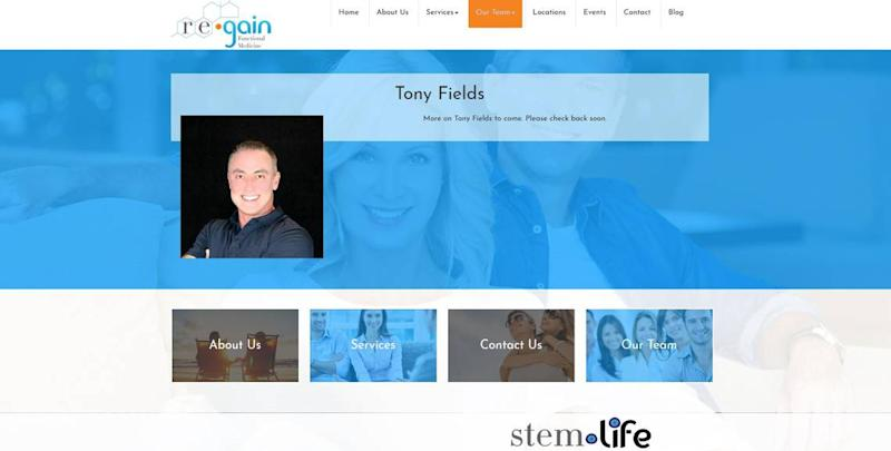 Tony Fields, managing partner of Stem Life in Leawood.