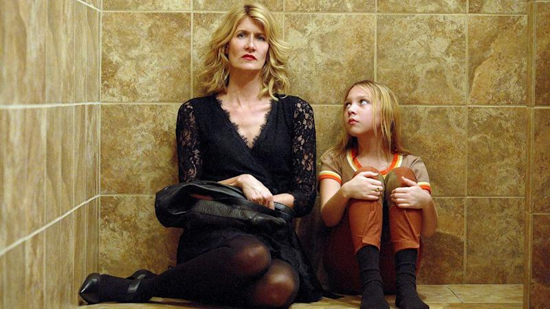 """""""The Tale"""" will remain a conversation piece because of its&nbsp;courageous portrayal of sexual assault,&nbsp;told through the lens of a&nbsp;crafty documentarian (Laura Dern) reconsidering what she once convinced herself was a loving adolescent relationship with her adult running&nbsp;coach (Jason Ritter) and horseback riding instructor (Elizabeth Debicki). It's also a staggering piece of filmmaking.&nbsp;<br /><br />Writer-director Jennifer Fox <a href=""""https://www.huffingtonpost.com/entry/the-tale-laura-dern-review_us_5a63c335e4b0dc592a0966f3"""" target=""""_blank"""">turns her own experiences</a> into a meta narrative about a woman who, as a young girl, was hungry for the affection her parents denied&nbsp;her. Storytelling at its most adept and sophisticated, """"The Tale"""" uses fiction conceits to&nbsp;depict trauma from the vantage of someone seeking the truth about her own biography. It's as much a salve as it is an investigation. Only someone with an intimate understanding of sexual power dynamics could&nbsp;sketch this snapshot. That Fox did is a testament to her&nbsp;wisdom as a filmmaker. And, as always, Dern gives a powerhouse performance. -- <i>MJ</i>"""