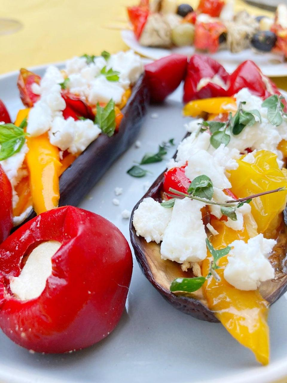 Cheap and healthy, aubergines are the perfect staple for any student meal (Ramona's Kitchen)