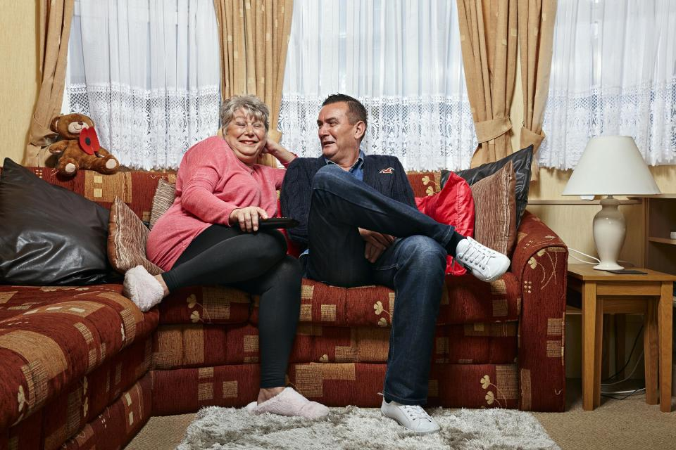 'Gogglebox's Jenny and Lee are living in lockdown together. (Channel 4)