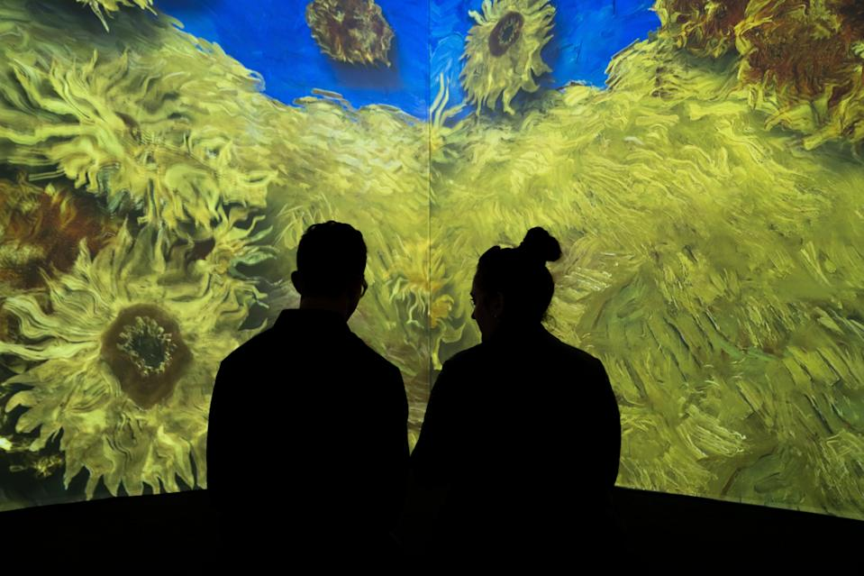 Van Gogh: The Immersive Experience is based in Commercial Street  (Handout)