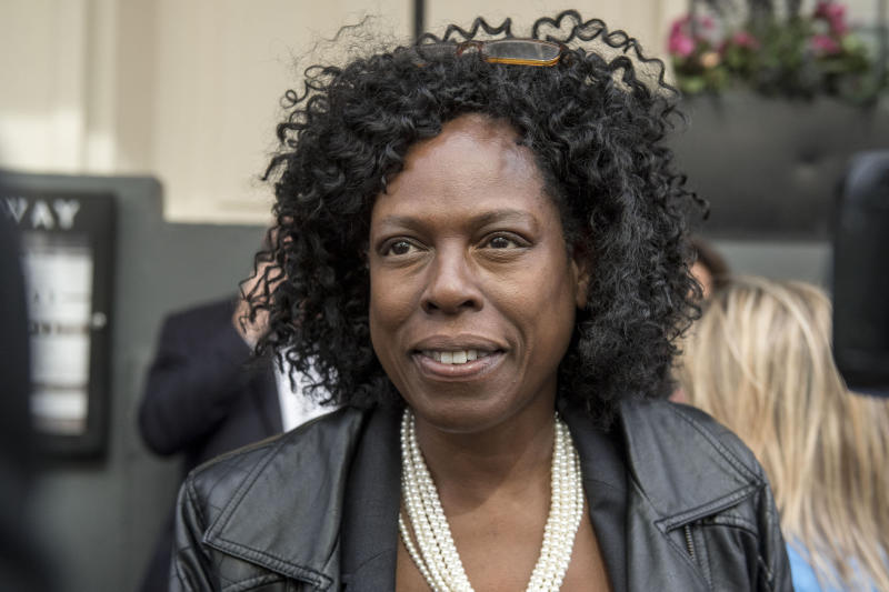 <strong>Yvette Williams, a coordinator for Justice 4 Grenfell, who have slammed authorities 100 days on from the disaster</strong> (PA Wire/PA Images)