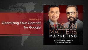 Episode 5 - Optimizing Your Content & Google Link Update