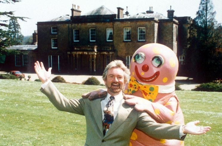 Doomed... Edmonds and Blobby's theme parks were a disaster - Credit: Rex Features