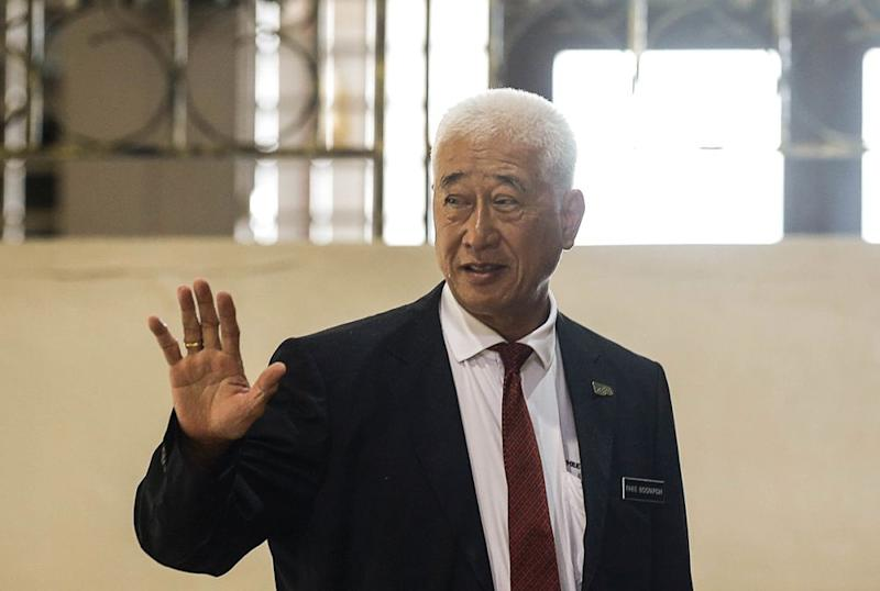 Penang state exco Phee Boon Poh is pictured at Dewan Sri Pinang, George Town November 8, 2019. — Picture by Sayuti Zainudin
