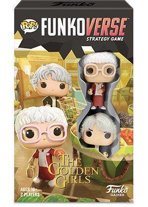 """<p><strong>Funko POP</strong></p><p>walmart.com</p><p><strong>$16.71</strong></p><p><a href=""""https://go.redirectingat.com?id=74968X1596630&url=https%3A%2F%2Fwww.walmart.com%2Fip%2F309213825&sref=https%3A%2F%2Fwww.countryliving.com%2Fshopping%2Fgifts%2Fg32237210%2Fgolden-girls-gifts%2F"""" rel=""""nofollow noopener"""" target=""""_blank"""" data-ylk=""""slk:Shop Now"""" class=""""link rapid-noclick-resp"""">Shop Now</a></p><p>This strategy game features familiar locations from the show and comes with collectible Dorothy and Sophia figurines (a <a href=""""https://www.bestbuy.com/site/funko-pop-funkoverse-the-golden-girls-100-strategy-game/6367846.p?skuId=6367846&ref=212&loc=1&extStoreId=383&ref=212&loc=1&gclid=Cj0KCQjw2or8BRCNARIsAC_ppybUure1NikJKcFRaAqOdv9HDxJLzHe_56JIhzu41mvG72pj3UPmR4MaAmO2EALw_wcB&gclsrc=aw.ds"""" rel=""""nofollow noopener"""" target=""""_blank"""" data-ylk=""""slk:Rose and Blanche version"""" class=""""link rapid-noclick-resp"""">Rose and Blanche version</a> is also available!).</p>"""