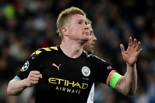 Kevin De Bruyne's future could be placed in doubt if Man City's appeal fails
