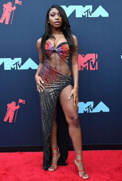 PHOTO: Singer Normani arrives for the 2019 MTV Video Music Awards at the Prudential Center in Newark, N.J. on Aug. 26, 2019. (Johannes Eisele/AFP/Getty Images)