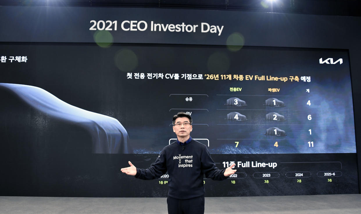 Ho Sung Song, Kia President and CEO