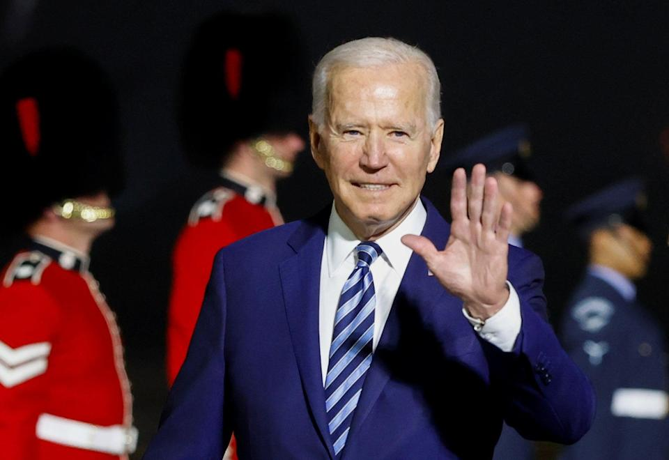 Deal came ahead of G7 Summit where climate change will be on the agenda for attendees including Joe Biden (PA Wire)