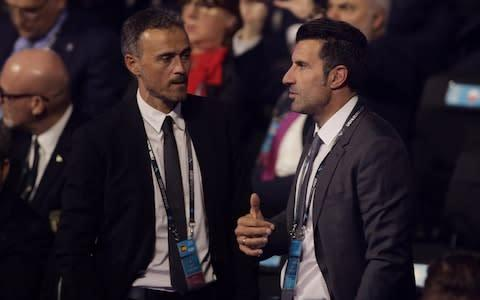 <span>A couple of Iberian legends</span> <span>Credit: Reuters </span>