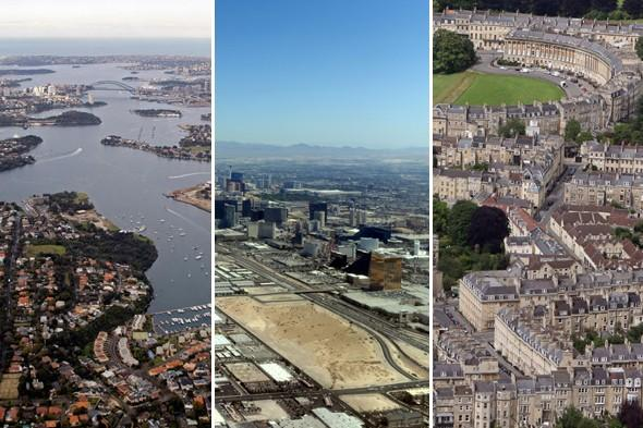 Travel quiz: Name the city from the sky!