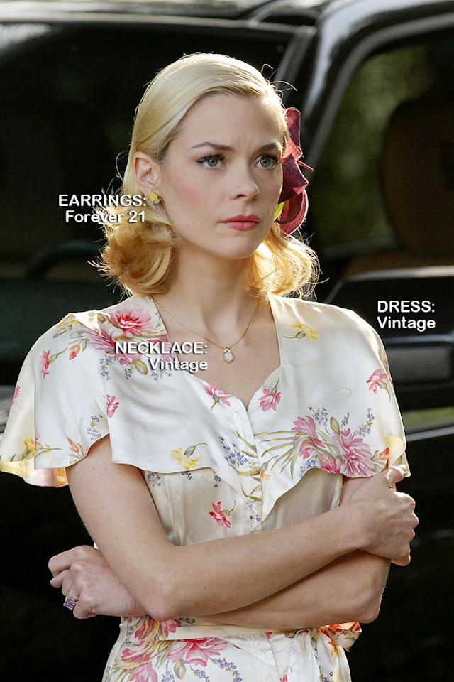 "Jaime King as Lemon Breeland in the Season 1 episode ""Homecoming and Coming Home."""