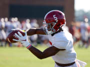 With Waddle out, Alabama's future star receiver has an opportunity to shine