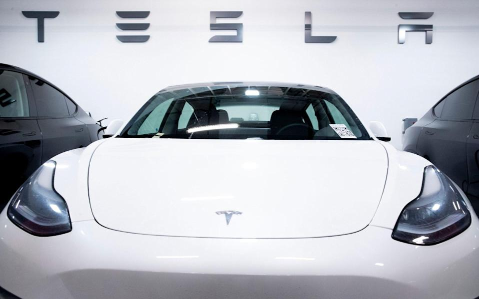 Tesla has halted some of its production line in California - Shutterstock