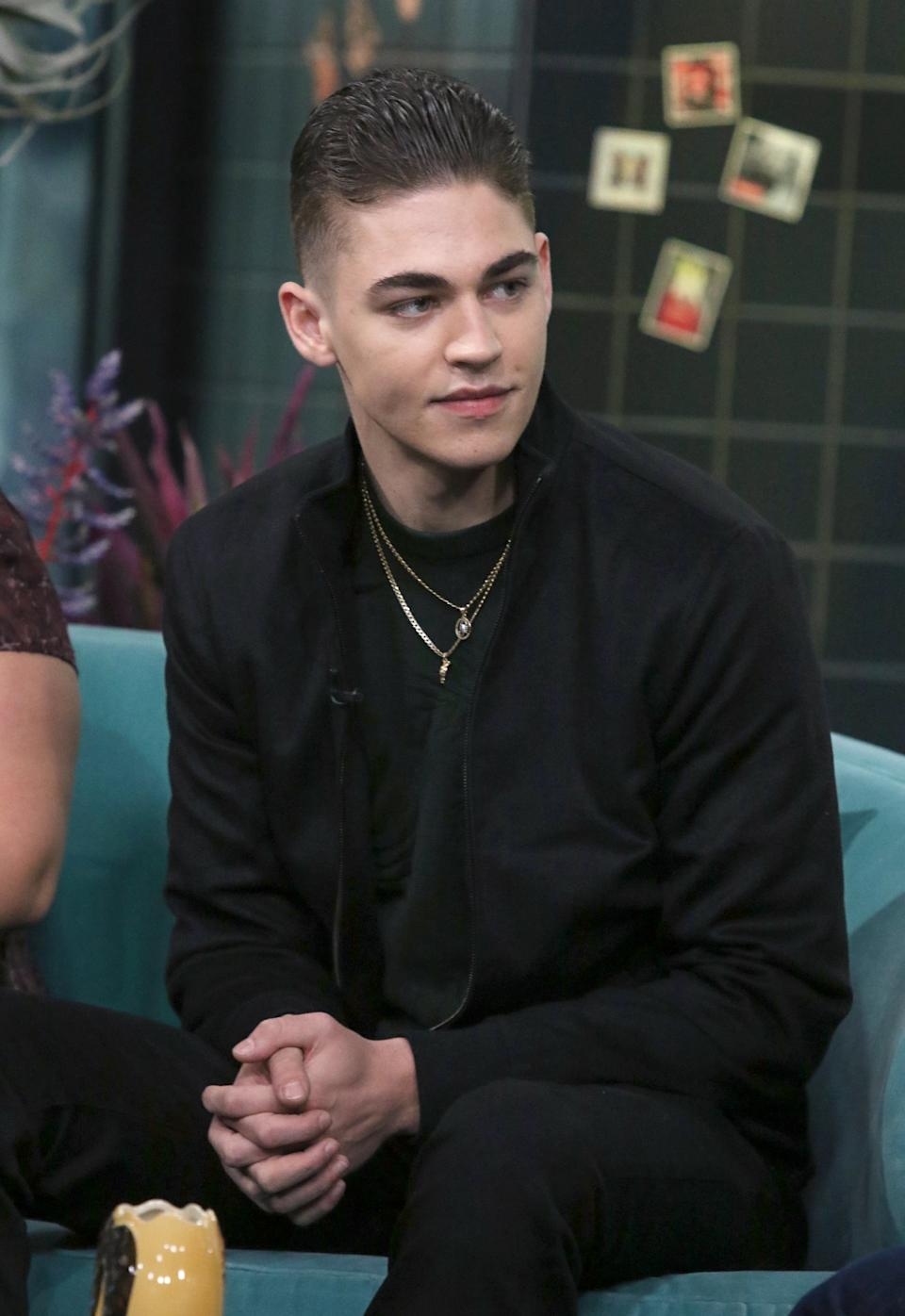 NEW YORK, NEW YORK - APRIL 11: Actor Hero Fiennes-Tiffin attends the Build Brunch at Build Studio on April 11, 2019 in New York City. (Photo by Jim Spellman/Getty Images)