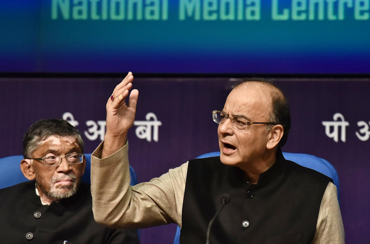 <p>Budget 2017-18 introduced 10% surcharge for people with taxable income of more than Rs 50 lakh but less than Rs 1 crore. The surcharge of 15% on income above Rs 1 crore remained unchanged. </p>