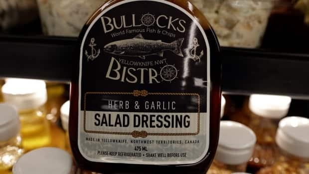 This salad dressing is so popular, the Yellowknife Co-op store has sold almost 7,000 bottles since May 2020. (Photo: Jay Legere - image credit)