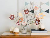 """<p>Thanksgiving is just around the corner, which means that it's time to deck out your home with festive holiday decor! When it comes to the best <a href=""""https://www.goodhousekeeping.com/holidays/thanksgiving-ideas/g22688007/thanksgiving-decorations/"""" rel=""""nofollow noopener"""" target=""""_blank"""" data-ylk=""""slk:Thanksgiving decorations"""" class=""""link rapid-noclick-resp"""">Thanksgiving decorations</a>, there's nothing like a thankful tree to truly capture the spirit of the season. Thankful trees, or gratitude trees, are a great <a href=""""https://www.goodhousekeeping.com/holidays/thanksgiving-ideas/g28635093/unique-thanksgiving-traditions/"""" rel=""""nofollow noopener"""" target=""""_blank"""" data-ylk=""""slk:Thanksgiving tradition"""" class=""""link rapid-noclick-resp"""">Thanksgiving tradition</a> that involves inviting your guests to write down what they're most thankful for on an ornament, then place it on the tree as part of an interactive seasonal display. Not only do these crafts make for a great holiday decor piece, it's also a wonderful way to give thanks for the season.</p><p>Luckily, if you're looking for ways to DIY your own Thanksgiving tree, we've rounded up all the best ideas here, from printable posters you can hang on the wall to festive mini-trees you can easily make with a few branches and some craft supplies. Whether you're looking for an elegant seasonal display or something you can easily craft with the kids, these creative DIY thankful trees make for great <a href=""""https://www.goodhousekeeping.com/home/decorating-ideas/g30445806/diy-wall-decor-ideas/"""" rel=""""nofollow noopener"""" target=""""_blank"""" data-ylk=""""slk:wall decor ideas"""" class=""""link rapid-noclick-resp"""">wall decor ideas</a>, <a href=""""https://www.goodhousekeeping.com/home/decorating-ideas/g33418751/fall-mantel-decor-ideas/"""" rel=""""nofollow noopener"""" target=""""_blank"""" data-ylk=""""slk:fall mantel decorations,"""" class=""""link rapid-noclick-resp"""">fall mantel decorations,</a> or even beautiful <a href=""""https://www.goodhousekeeping.com/holidays/t"""