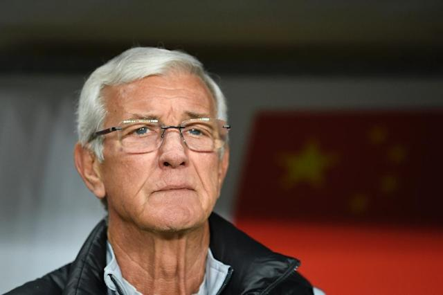 Marcello Lippi took China to the quarter-finals of this year's Asian Cup. (AFP Photo/KHALED DESOUKI)