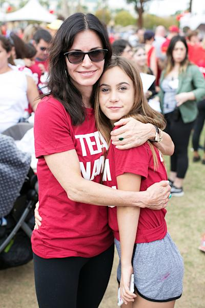 Courteney Cox's 12-year-old daughter, Coco Arquette, looked so grown up and barely recognizable when she joined her famous mom at a recent ALS charity event — see the pics