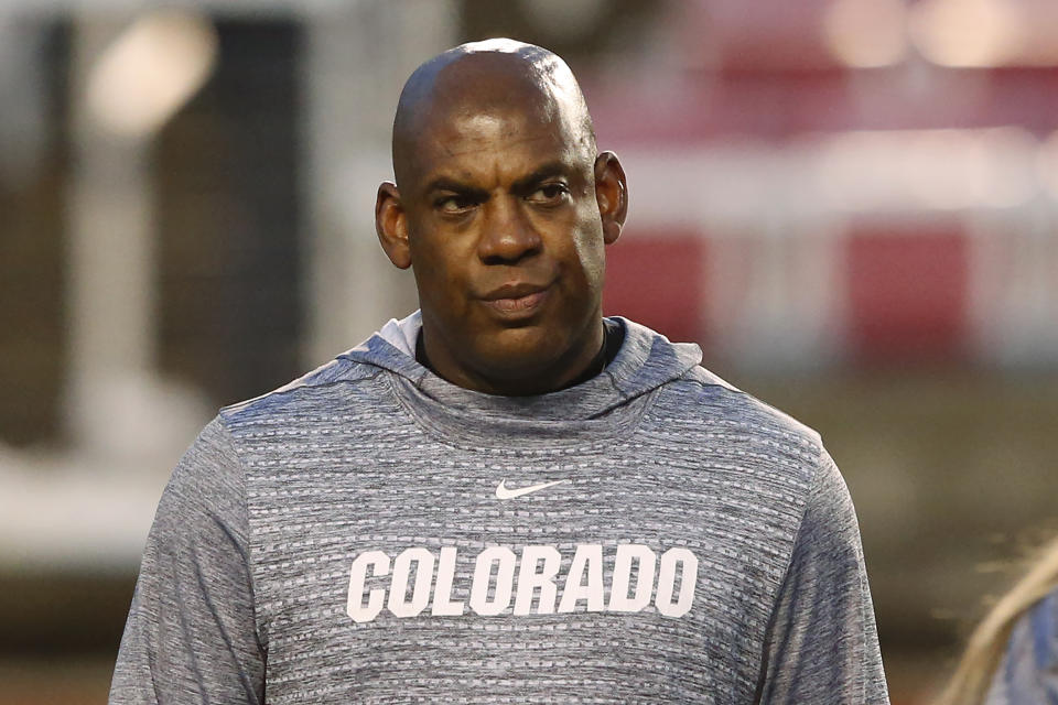 Mel Tucker is headed to the Big Ten from the Pac-12. (AP)