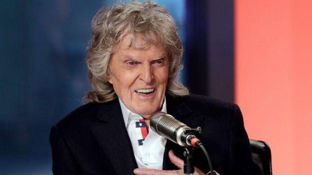 PHOTO: Radio personality Don Imus appears on his last 'Imus in the Morning' program, on the Fox Business Network, in New York, May 29, 2015. (Richard Drew/AP, FILE)