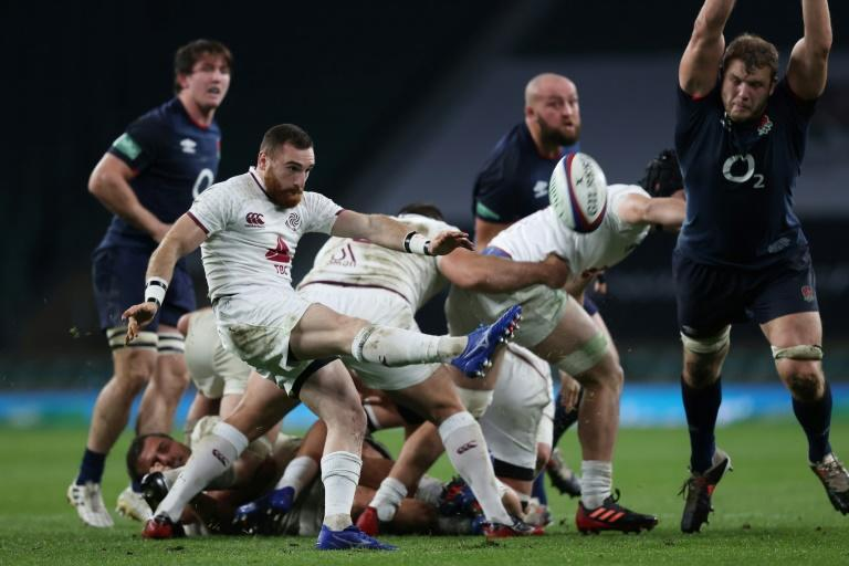 Recall - Georgia scrum-half Vasil Lobzhanidze starts against Wales after coming off the bench against England