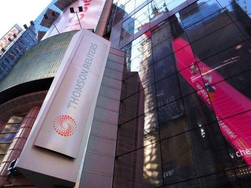 Each of the Thomson Reuters divisions showed revenue growth
