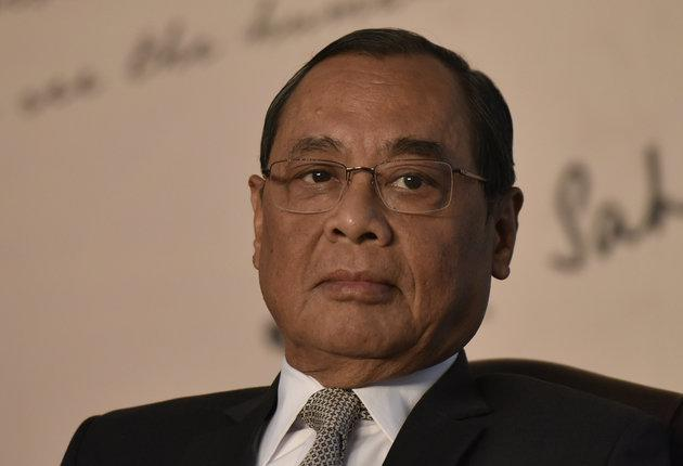 Ranjan Gogoi, Chief Justice of India, in a file photo.