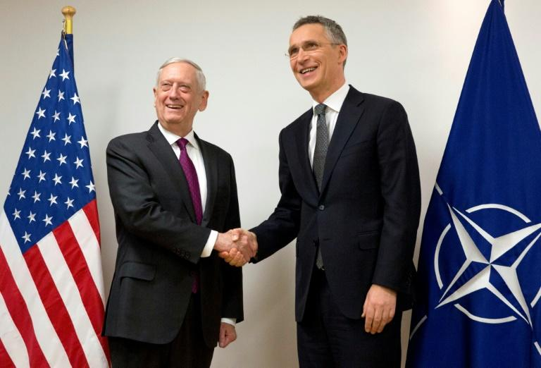 United States concerns over European Union defense agreement cloud NATO's talks