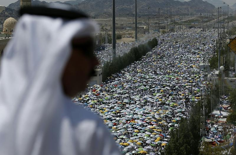 More than 1.8 million Muslim pilgrims are taking part in the Hajj this year in the Saudi holy city of Mecca