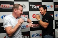 <p>Mark Wahlberg played boxer Micky Ward in <em>The Fighter</em> in 2010. </p>
